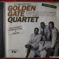 CDs de Música: GOLDEN GATE QUARTET...LO MEJOR...DOBLE CD. Lote 94983539