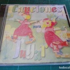 CDs de Música: CANCIONES INFANTILES PARA JUGAR CD. Lote 95003783