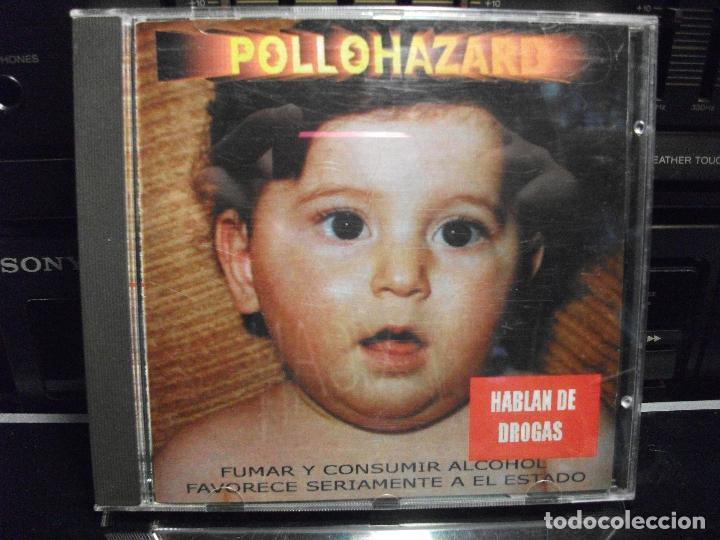 CD POLLOHAZARD - HABLAN DE DROGAS - 2000 - 10 TEMAS MEDIUM RECORDS COMO NUEVO¡¡ PEPETO (Música - CD's Heavy Metal)