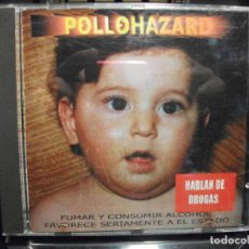 CDs de Música: CD POLLOHAZARD - HABLAN DE DROGAS - 2000 - 10 TEMAS MEDIUM RECORDS COMO NUEVO¡¡. Lote 95014575