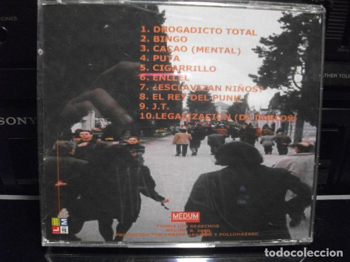 CDs de Música: CD POLLOHAZARD - HABLAN DE DROGAS - 2000 - 10 TEMAS MEDIUM RECORDS COMO NUEVO¡¡ PEPETO - Foto 2 - 95014575