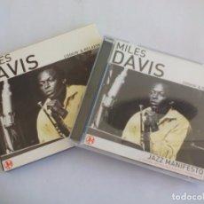 CDs de Música: MILES DAVIS JAZZ MANIFESTO. 10 TEMAS. CD, COMPACT DISC. Lote 95047067