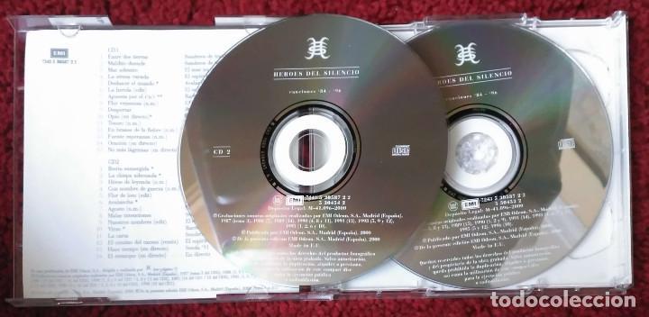 CDs de Música: HEROES DEL SILENCIO (CANCIONES 84-96) DOBLE CD 2000 - Foto 3 - 95084327
