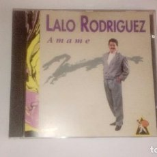 CDs de Música: LALO RODRIGUEZ ÁMAME CD RARO MUY DIFÍCIL. Lote 95119115