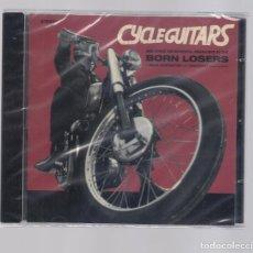 CDs de Música: BORN LOSERS - CYCLE GUITARS (CD 2010, MEAN DISPOSITION RECORDS MDCD002) NUEVO. Lote 95124283