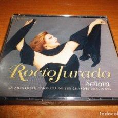 CDs de Música: ROCIO JURADO SEÑORA 2 CD + DVD EN CAJA ANCHA 2004 LOLA FLORES JUAN PARDO ANA GABRIEL EL PUMA. Lote 95158227