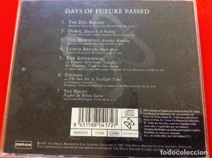 CDs de Música: Days of future passed. The moody blues. Peter Knight - Foto 3 - 95209803