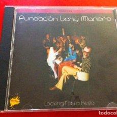 CDs de Música: FUNDACIÓN TONY MANERO. LOOKING FOR LA FIESTA. 2001. Lote 95210375