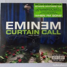 CDs de Música: EMINEM - CURTAIN CALL THE HITS (DELUXE EDITION + STAN'S MIXTAPE CD) 2CD. Lote 95252895