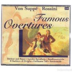 CDs de Música: VON SUPPE / ROSSINI - FAMOUS OVERTURES (2CD BRILLANT CLASSICS 99624). Lote 95268219