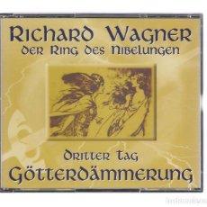 CDs de Música: WAGNER - DER RING DES NIBELUNGEN GÖTTERDÄMMERUNG (4CD 1995 Y LIBRETO, BRILLANT CLASSICS 99629/1-4). Lote 95269579