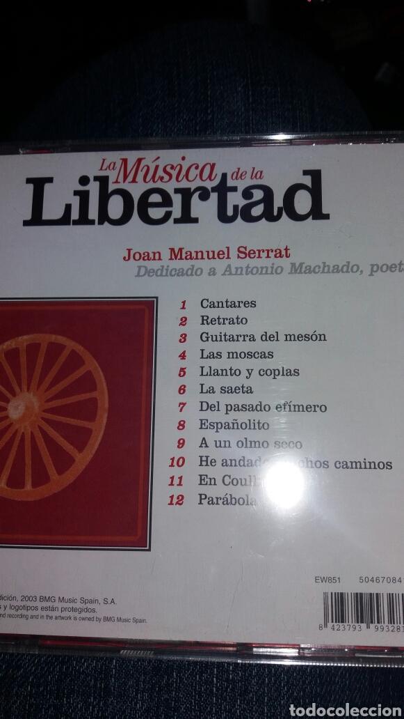 CDs de Música: CD JOAN MANUEL SERRAT LIBERTAD - Foto 2 - 95305839