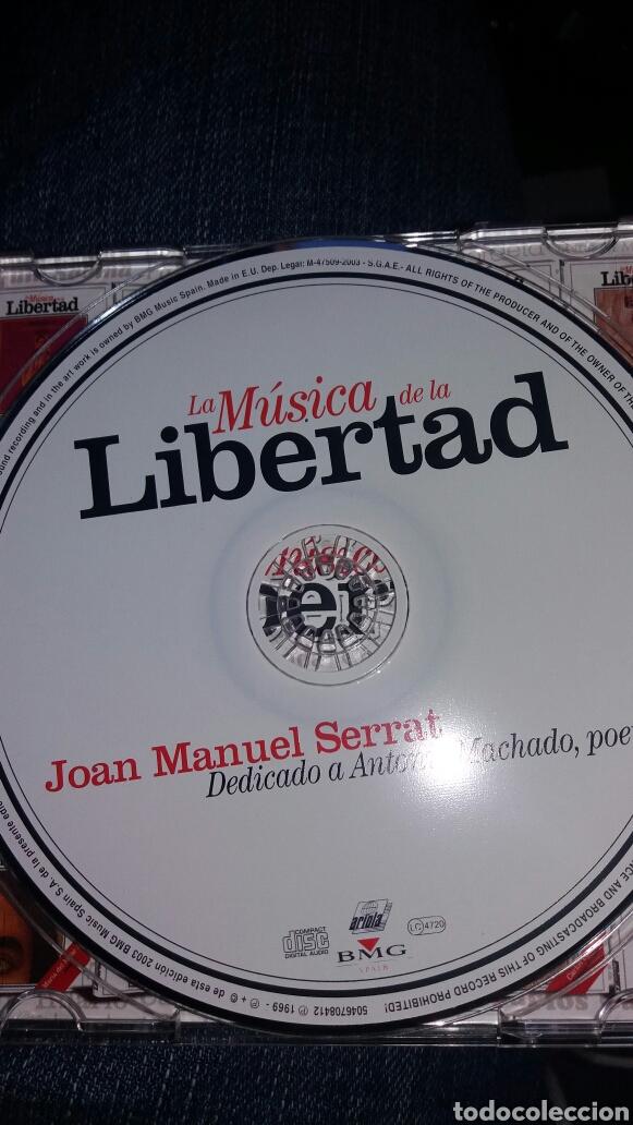 CDs de Música: CD JOAN MANUEL SERRAT LIBERTAD - Foto 3 - 95305839