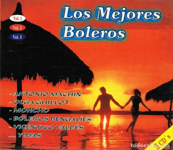 CD LOS MEJORES BOLEROS VOL. 1,2 Y 3 (Música - CD's Latina)