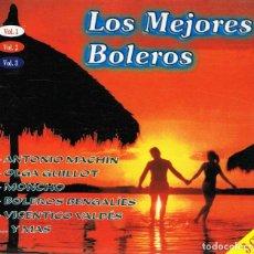 CDs de Música: CD LOS MEJORES BOLEROS VOL. 1,2 Y 3 . Lote 95341639