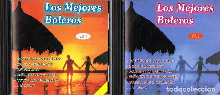 CDs de Música: CD LOS MEJORES BOLEROS VOL. 1,2 Y 3 - Foto 2 - 95341639