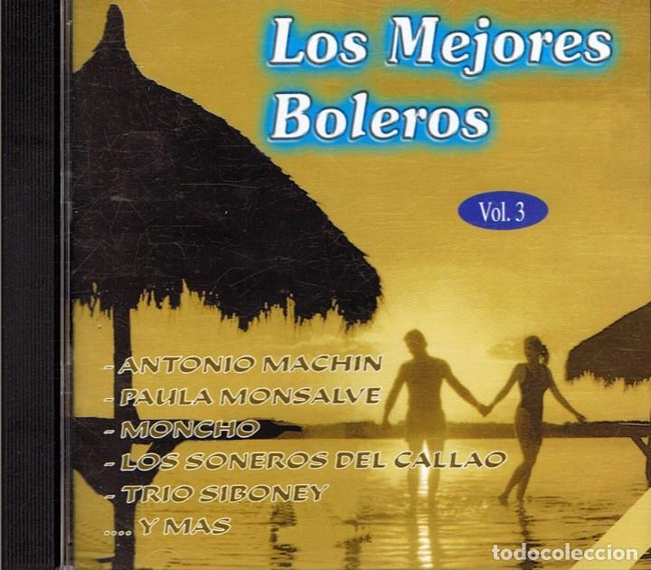 CDs de Música: CD LOS MEJORES BOLEROS VOL. 1,2 Y 3 - Foto 3 - 95341639