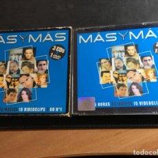 CDs de Música: MAS Y MAS 3 CD + 1 DVD (CDI9). Lote 95366447