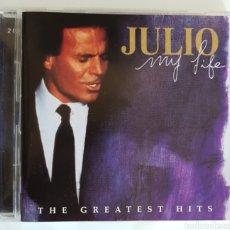 CDs de Música: DOBLE CD JULIO IGLESIAS THE GREATEST HITS. Lote 95380640