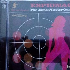 CDs de Música: THE JAMES TAYLOR QUARTET ESPIONAGE: THE VERY BEST OF THE JAMES TAYLOR QUARTET CD. Lote 95406311