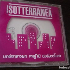 CDs de Música: SOTTERRANEA VOLUME TWO. UNDERGROUND MUSIC COLLECTION. CD THE SOUND. OF CALYPSO 1995. IRMA RECORDS. Lote 95423447