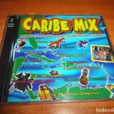 CDs de Música: CARIBE MIX DOBLE CD DEL AÑO 1996 PROYECTO UNO MYSTIC SANDY & PAPO MC COCOMAN GABY 31 TEMAS 2 CD. Lote 95431407