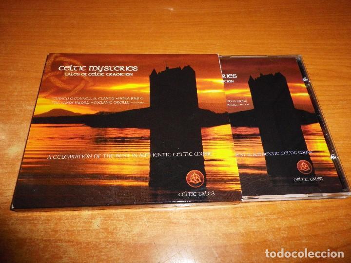 CELTIC MYSTERIES TALES OF CELTIC TRADITION CD ALBUM CON SOBRECUBIERTA 1998 MARTIN DONNELLY CELTA (Música - CD's World Music)