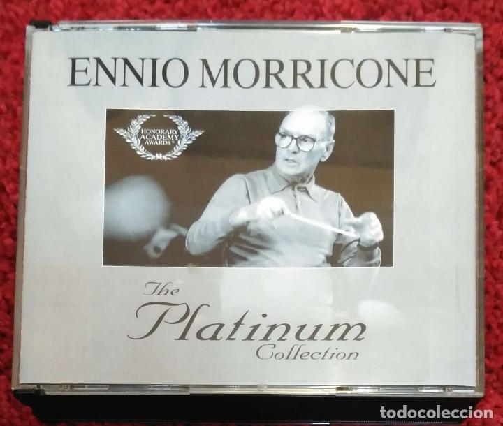 ENNIO MORRICONE (THE PLATINUM COLLECTIÓN) 3 CD'S 2007 (Música - CD's Bandas Sonoras)