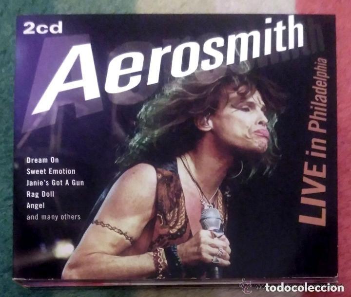AEROSMITH (LIVE IN PHILADELPHIA) 2 CD 2008 * RECORDED LIVE AT THE SPECTRUM, PHILADELPHIA, JANUARY 19 (Música - CD's Heavy Metal)