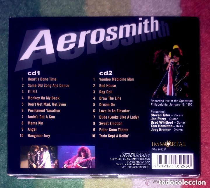 CDs de Música: Aerosmith (Live In Philadelphia) 2 Cd 2008 * Recorded live at the Spectrum, Philadelphia, January 19 - Foto 2 - 95457303