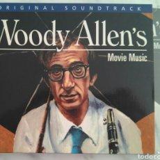 CDs de Música: WOODY ALLEN'S MOVIE MUSIC. CD. BSO PELICULAS. JAZZ. Lote 95468502