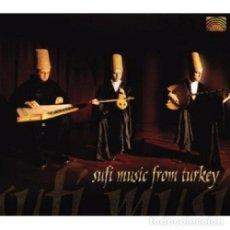 CDs de Música: SUFI MUSIC FROM TURKEY - CD. Lote 95535455