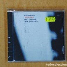 CDs de Música: KEITH JARRETT / GARY PEACOCK / JACK DEJOHNETTE - YESTERDAYS - CD. Lote 95545722