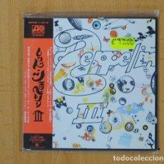 CDs de Música: LED ZEPPELIN - III - CD. Lote 95547072