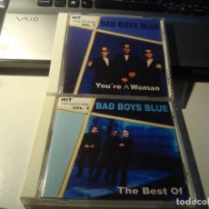 CDs de Música: RAR 2 CD'S. BAD BOYS BLUE. HIT COLLECTION. VOL1, VOL.2. YOU'RE A WOMAN. Lote 95581671