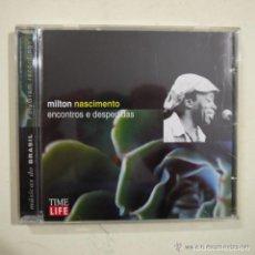 CDs de Música: MILTON NASCIMENTO - ENCONTROS E DESPEDIDAS . Lote 95588375