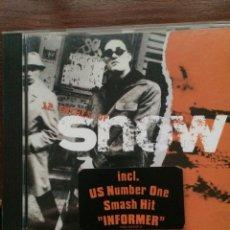 CDs de Música: SNOW - 12 INCHES OF SNOW. Lote 95593015