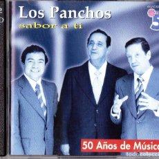 CDs de Música: CD - LOS PANCHOS - SABOR A TI - 50 AÑOS DE MÚSICA - 2 CD'S - VER TÍTULOS !! - IMPECABLE !!. Lote 95605531