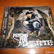 CDs de Música: PSYCHO PRO MUERTE CD ALBUM PRECINTADO 2013 ROSSY DE PALMA XCESE MAGREB STYLE LA CHINA PATINO HIP HOP. Lote 95615107