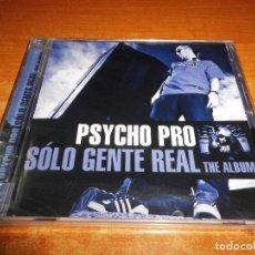 CDs de Música: PSYCHO PRO SOLO GENTE REAL CD PRECINTADO 2009 LASONG ESTEPHEN CRACK JENKY MAKABRO KRAZE HIP HOP RARO. Lote 95615439
