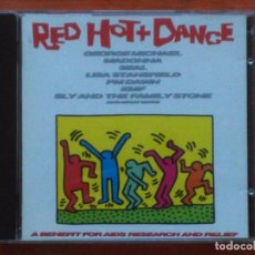 CDs de Música: VARIOS-RED HOT + DANCE (CD. EPIC.1992) GEORGE MICHAEL,MADONNA...PORTADA: KEITH HARING.. Lote 95625423
