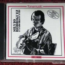 CDs de Música: SILVIO RODRIGUEZ (DIAS Y FLORES) CD 1995 EDICIÓN COLOMBIANA. Lote 95626891
