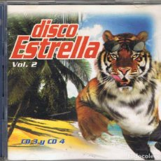 CDs de Música: DISCO ESTRELLA VOL. 2. CD 3 Y CD 4. Lote 95628023