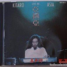 CDs de Música: KITARO - LIVE IN ASIA (CD) 1984 - 9 TEMAS. Lote 95629155