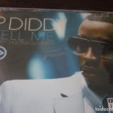 CDs de Música: P. DIDDY. TELL ME. FEATURING CHRISTINA AGUILERA. CD PROMOCIONAL. EDICION EXTRANJERA. Lote 95650839