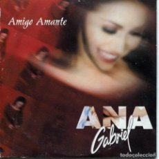 CDs de Música: ANA GABRIEL / AMIGO AMANTE (CD SINGLE CARTON PROMO 2001). Lote 95686503