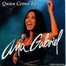 CDs de Música: ANA GABRIEL / QUIEN COMO TU (CD SINGLE CARTON PROMO 2000). Lote 95686707