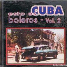 CDs de Música: ESTO ES CUBA - BOLEROS VOL. 2. Lote 95697791