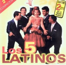 CDs de Música: CD LOS 5 LATINOS ( 2 CD´S). Lote 95699043
