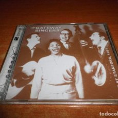 CDs de Música: THE GATEWAY SINGERS LIVE AT STANFORD 1957 DOBLE CD DEL AÑO 2009 CONTIENE 38 TEMAS 2 CD RARO. Lote 95699291